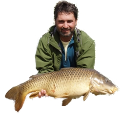 Lawrence with an Ontario Carp